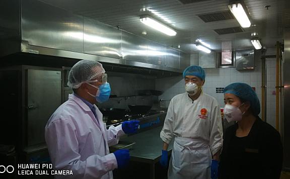 海河教育园区市场监管局加强集中隔离观察点食品安全保障