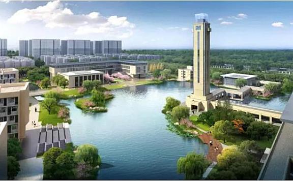 天津核工业大学效果图披露有新进展
