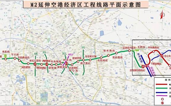 天津地铁2号线延长线