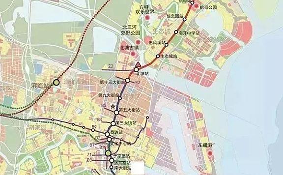 天津Z4线(滨铁2号线)地铁建设的最新进展