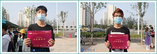 天津职业大学顺利完成2020级联合培养本科新生通知书发放工作