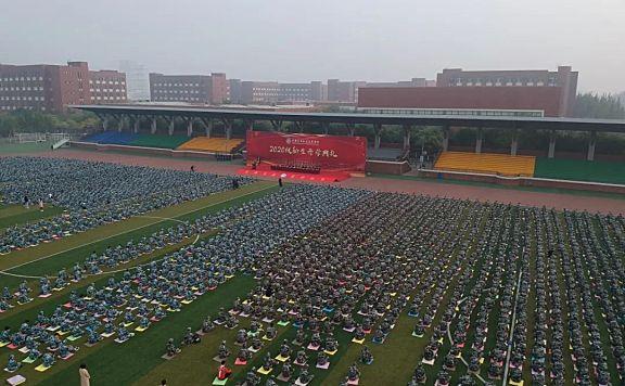 天津机电职业技术学院隆重举行2020级新生开学典礼
