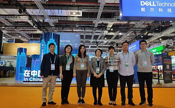 天津轻工职业技术学院组团参加第三届中国国际进口博览会