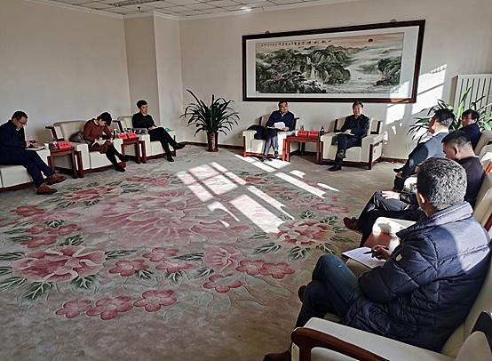 海河教育园区领导到天津开放大学调研