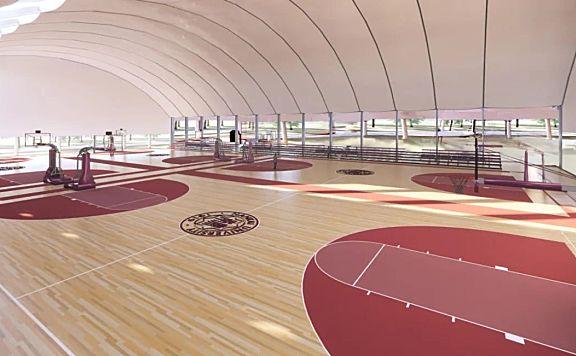 张丹向南开大学捐1000万! 支持八里台校区西区篮球场升级