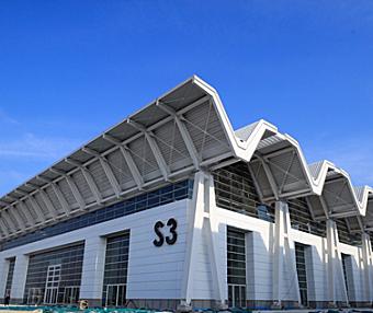 国家会展中心(天津)建成绿色智慧会展综合体