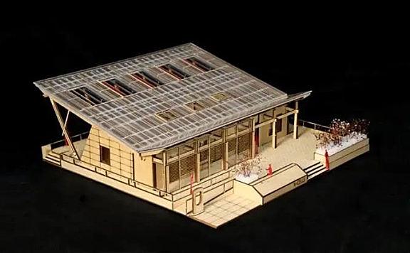 """天大招生宣传片中的""""阳光小屋""""在国家会展中心(天津)首展建起来了!"""