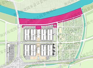 天津国家会展会议中心段景观规划设计方案