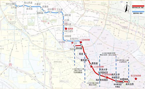 天津地铁6号线二期将于2021年底前开通!首条全自动运行地铁来了!
