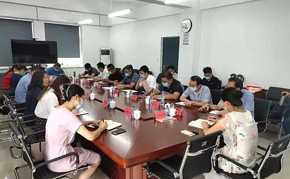 海棠街组织召开驻街院校疫情防控工作专题会议