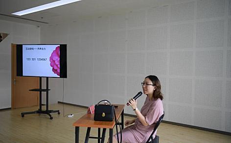 海棠街举办妇女心理健康知识讲座