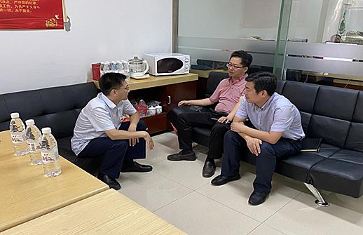津南区海棠街党群服务中心赴中国天津人力资源开发服务中心(海河教育园分中心)开展交流考察活动