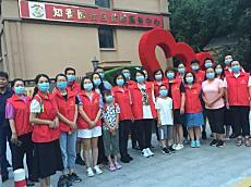 津南区海棠街知香园社区党委开展中元节巡查活动 倡导文明祭扫 树立社会新风