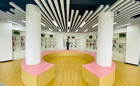 海棠众创大街运营服务中心图书流动服务点设立